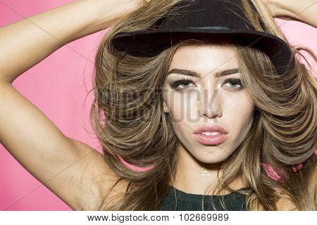 Girl In Shady Hat
