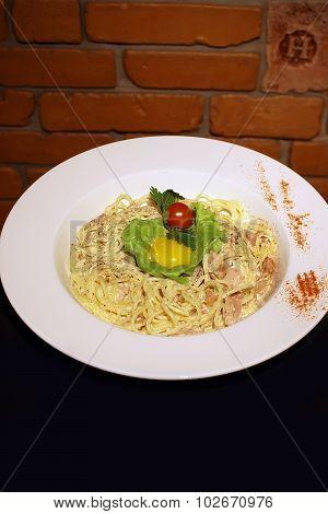 Delicious Italian Carbonara