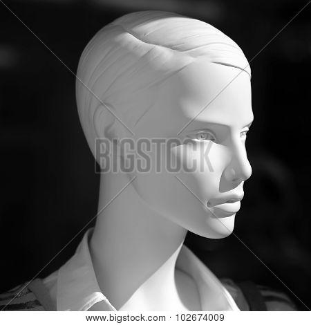 Closeup Of Mannequin