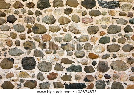 Field Stone Wall Background