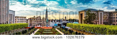 Panorama Of Brussels
