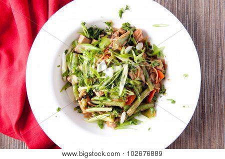 Pork Stir Fry Stock Photo