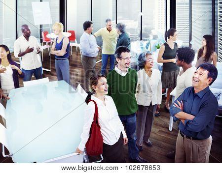 Business People Team Teamwork Cooperation Partnership Concept