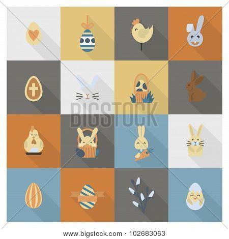 Celebration Easter Icons