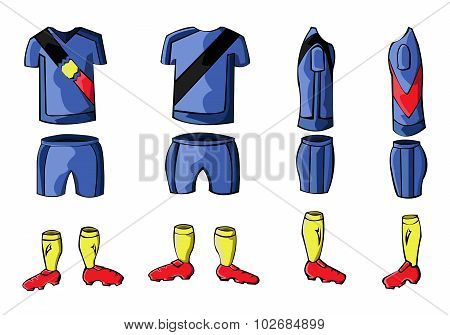 Soccer Sportswear Stylish Design