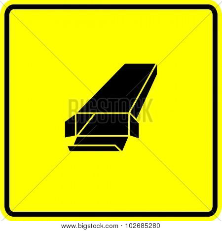 rectangular box sign