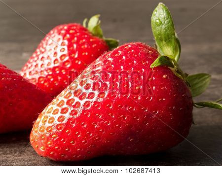Closeup Strawberry