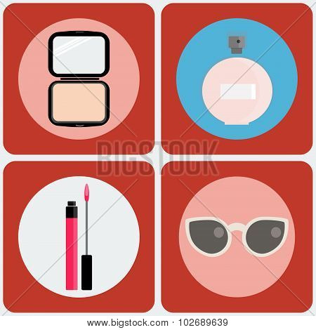 Beauty Vector Icon Set