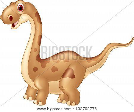 Adorable cute dinosaur