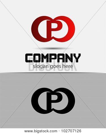 Alphabetical Logo Design Concepts. Letter P