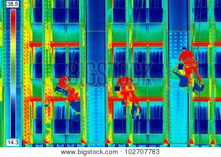 Infrared Image Window Washers