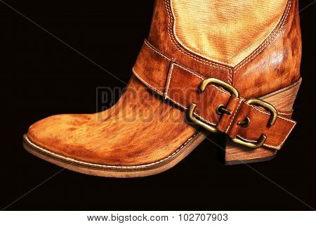 Boot Of The Cowboy