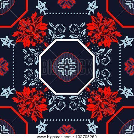 Geometrical tile pattern
