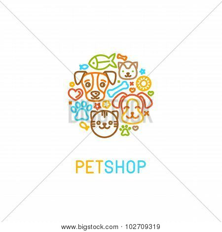 Pet Logo Design Elements