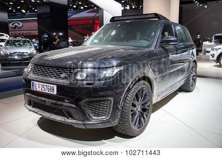 Range Rover Sport Svr Form The Spectre Movie