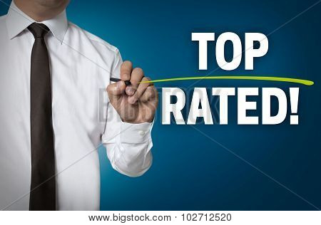 Top Rated Written By Businessman Background