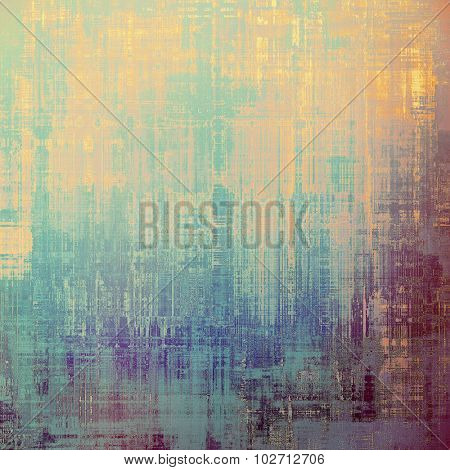 Grunge colorful texture for retro background. With different color patterns: yellow (beige); purple (violet); blue; cyan