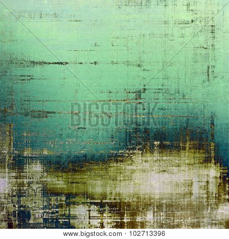 Rough vintage texture. With different color patterns: brown; blue; gray; green