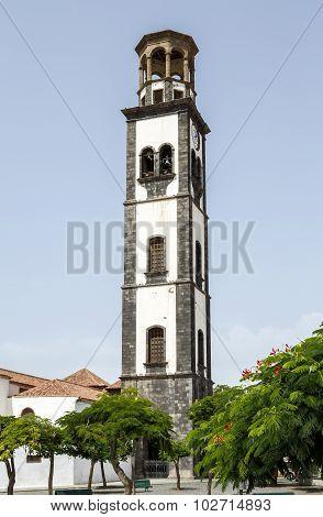Church Of Nuestra Senora De La Concepcion In Santa Cruz De Tenerife