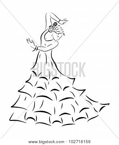 Flamenco Black
