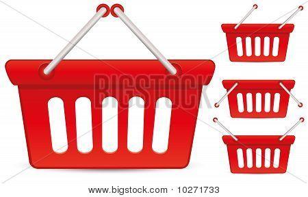 Baskets red