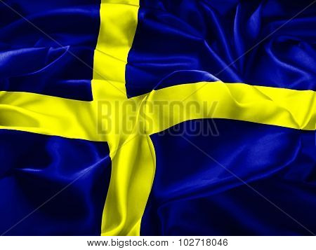 Sweden Flag And Heart