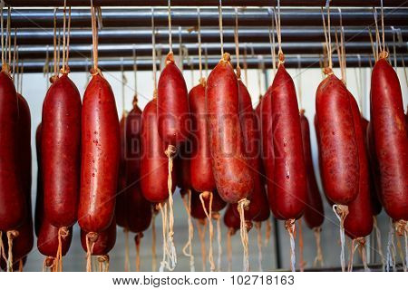 Sobrasada of Mallorca typical sausage in Balearic Islands of Spain
