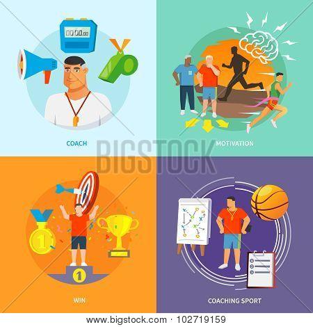 Coaching Sport Flat