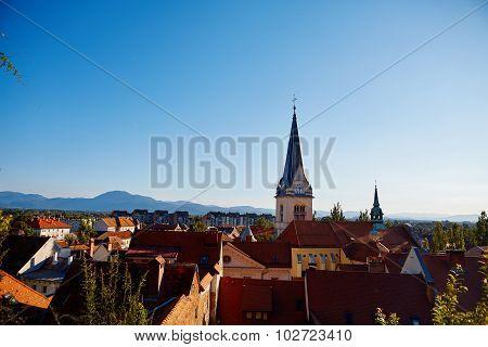 Cityscape  Ljubljana
