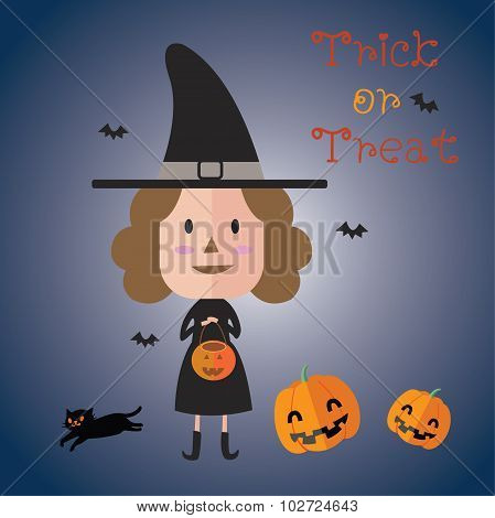 happy halloween eps10 format