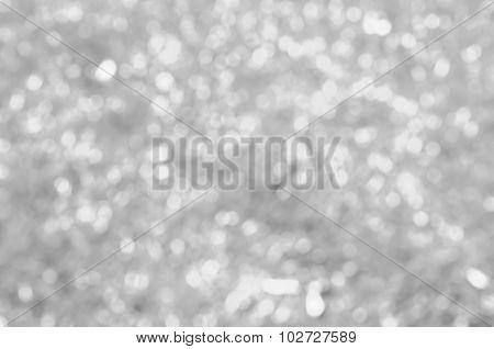 Abstract Blur Background : Beautiful Gray Bokeh