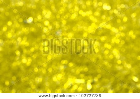 Abstract Blur Background : Beautiful Gold Bokeh