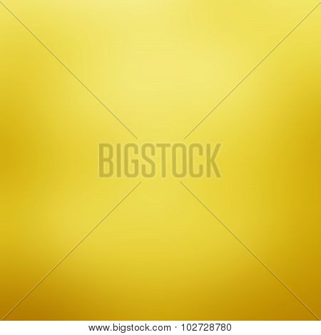 Abstract Warm Yellow Background