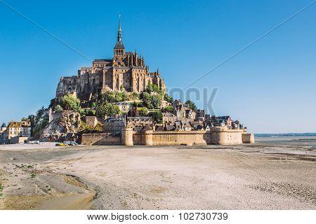 Mont Saint Michel Normandy , France .