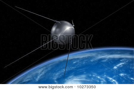 Earth sputnik