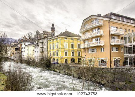 Brunico  - Trentino Alto Adige - Italy - Rienza River