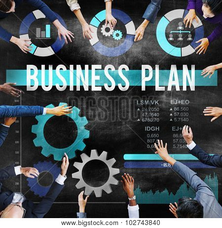 Business Plan Planning Strategy Development Objective Concept