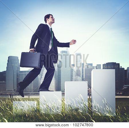 Business Growth Development Progress Success Concept