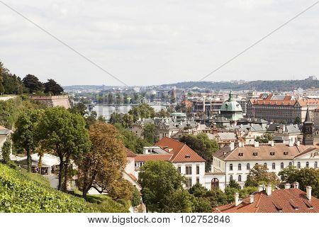 View of Prague. Czech Republic.