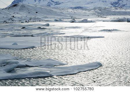 Glacier Lagoon Jokulsarlon, Iceland