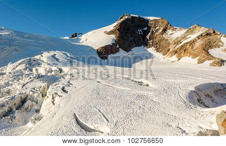 Spectacular mountain peak.