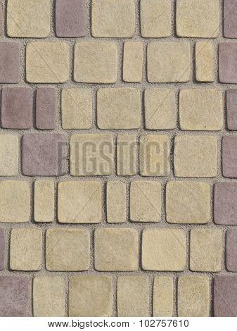 Painted Decorative Concrete Blocks