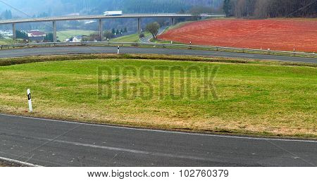 Asphalt Side Road