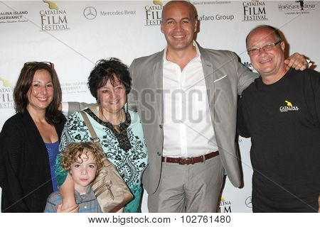LOS ANGELES - SEP 24:  Billy Zane, VIPs at the Catalina Film Festival Opening Night Feature -- West of Redemption at the Lancer Auditorium on September 24, 2015 in Avalon, CA