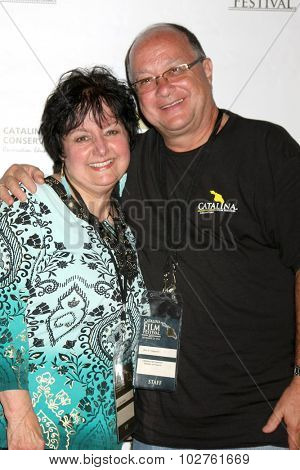 LOS ANGELES - SEP 24:  VIPs at the Catalina Film Festival Opening Night Feature -- West of Redemption at the Lancer Auditorium on September 24, 2015 in Avalon, CA