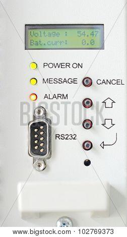 sensor with LEDs