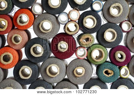 Spools of thread backgrounds