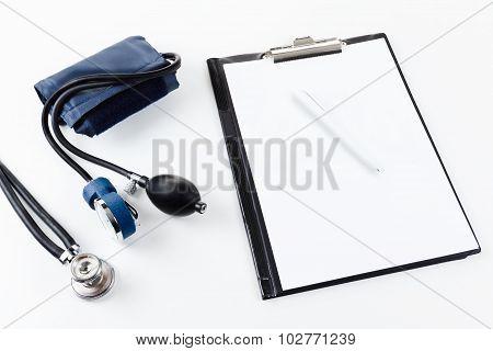Medical Equipment - Stetoscope And Tonometer