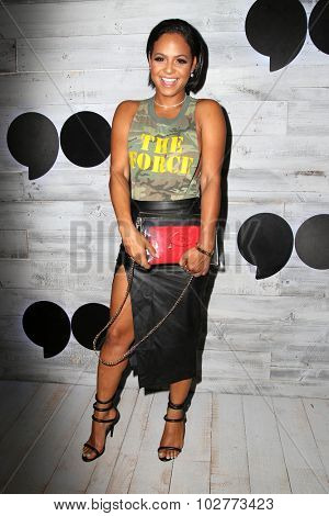LOS ANGELES - SEP 24:  Christina Milian at the VIP Sneak Peek Of go90 Social Entertainment Platform at the Wallis Annenberg Center for the Performing Arts on September 24, 2015 in Los Angeles, CA