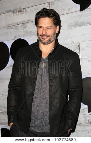 LOS ANGELES - SEP 24:  Joe Manganiello at the VIP Sneak Peek Of go90 Social Entertainment Platform at the Wallis Annenberg Center for the Performing Arts on September 24, 2015 in Los Angeles, CA